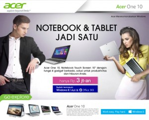 Acer Notebook Cikarang