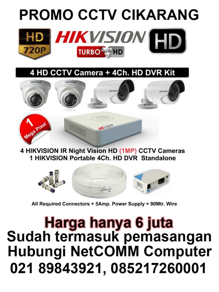 CCTV Cikarang Hikvision